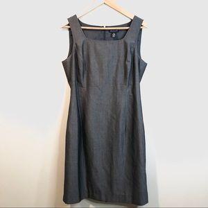 Ann Taylor sleeveless sheath career dress Size 12